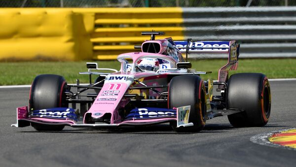Racing car during Belgian Grand Prix on 31 August 2019 - Sputnik International