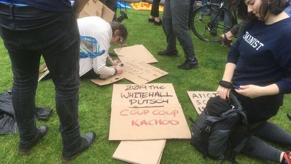Glasgow protests  - Sputnik International