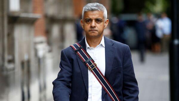 Mayor of London Sadiq Khan walks in Westminster, London, Britain August 28, 2019. - Sputnik International