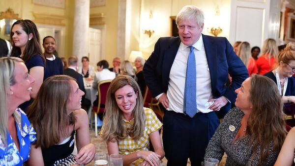 Britain's Prime Minister Boris Johnson at 10 Downing Street - Sputnik International