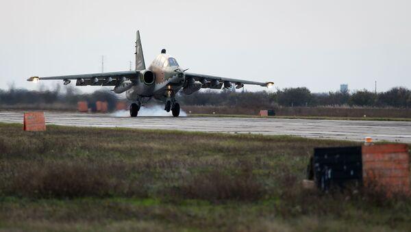 Sukhoi Su-25UB ground-attack aircraft - Sputnik International