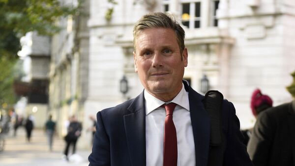 Keir Starmer, Britain's main opposition Labour Party Shadow Secretary of State for Exiting the European Union, in central London, Tuesday Aug. 27, 2019 - Sputnik International