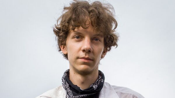 Hacktivist Jeremy Hammond - Sputnik International