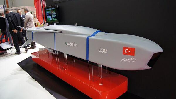 SOM cruise missile mockup - Sputnik International