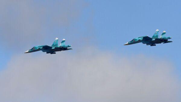 Russian Su-34 bombers (File) - Sputnik International