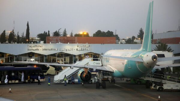 In this Thursday, Aug. 22, 2019, photo, passengers leave the arrival terminal of Abha airport, south of Saudi. Saudi Arabia said early Thursday, Aug. 29, 2019 - Sputnik International