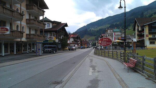 Mainstreet in Gerlos, Austria - Sputnik International