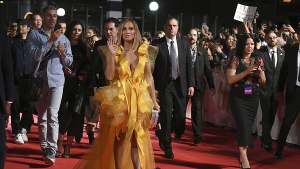 Jennifer Lopez attends the premiere for Hustlers on day three of the Toronto International Film Festival at Roy Thomson Hall on Saturday, Sept. 7, 2019, in Toronto. - Sputnik International