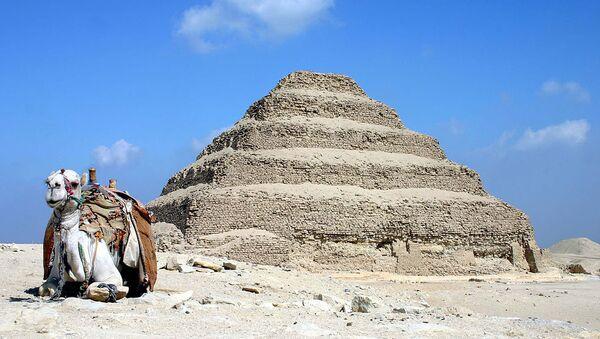 Saqqara pyramid of Djoser in Egypt - Sputnik International