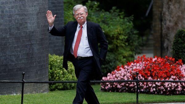 USA-BRITAIN/ U.S. National Security Advisor John Bolton arrives for a meeting with Britain's Chancellor of the Exchequer Sajid Javid at Downing Street in London - Sputnik International