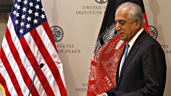 Special Representative for Afghanistan Reconciliation Zalmay Khalilzad - Sputnik International