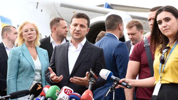 President of Ukraine Vladimir Zelensky (File) - Sputnik International