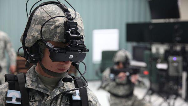 U.S. Army virtual reality training  - Sputnik International