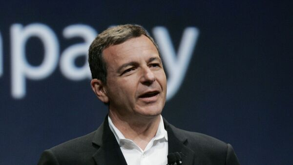 Disney CEO Bob Iger gestures during announcement of new Apple products - Sputnik International