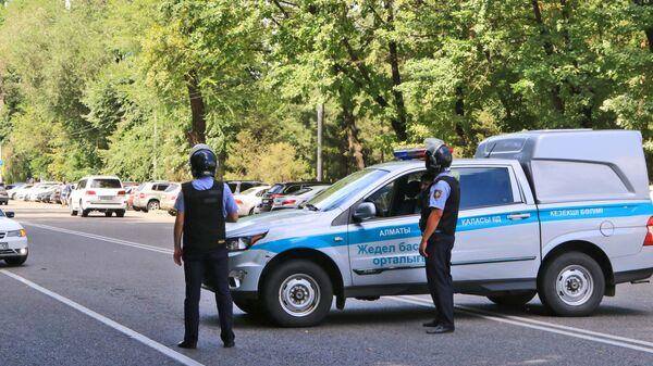 Kazakhstan Police in the city of Almaty - Sputnik International