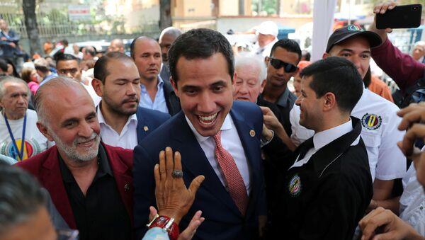 Venezuelan opposition leader Juan Guaido - Sputnik International