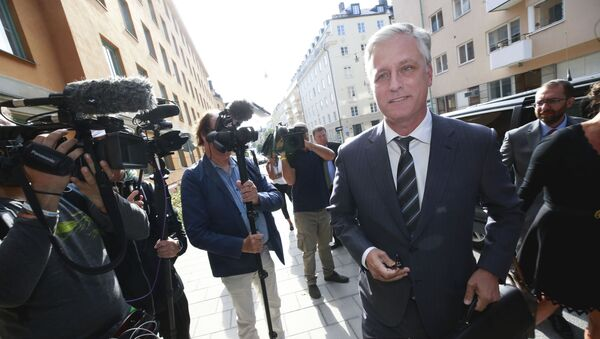 Robert C O'Brien, US Special Envoy Ambassador, arrives at the district court to follow the trial against US rapper ASAP Rocky (not in picture) in Stockholm on August 1, 2019. - Sputnik International