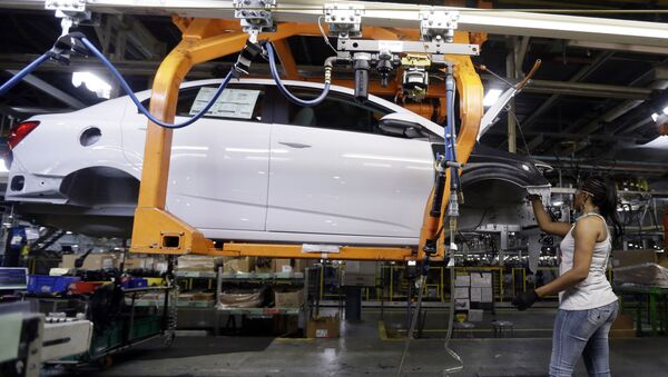 Buick Verano is assembled at General Motors' Orion Assembly plant in Orion Township - Sputnik International