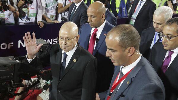 Algeria's interim president, Abdelkader Bensalah - Sputnik International