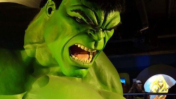 The raging Hulk - Sputnik International
