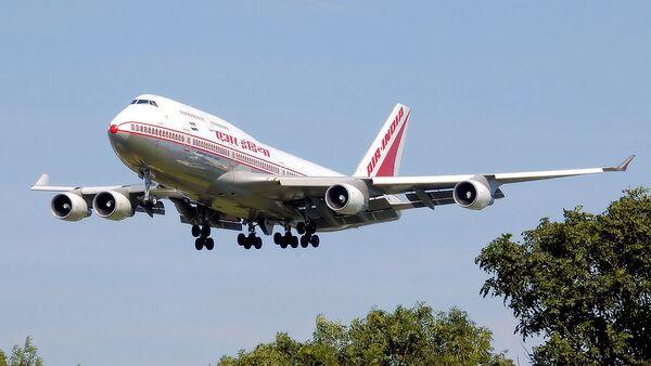 Air India Boeing 747-400 (VT-ESN) - Sputnik International
