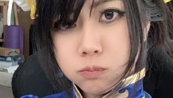 I just got banned again for wearing a Chun Li cosplay. I am fully covered. I don't understand @TwitchSupport  @twitch  how is this sexually suggestive content? - Sputnik International