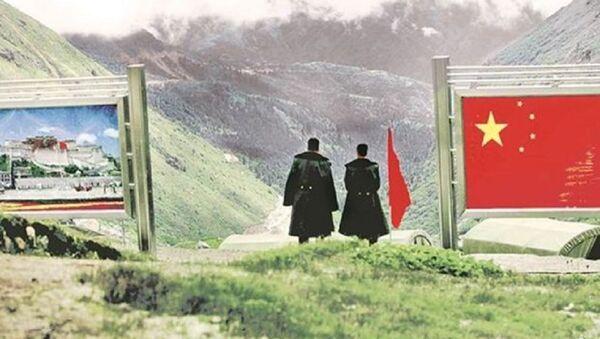 India-China Sikkim border - Sputnik International