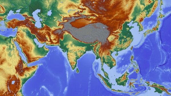 Map of India - Sputnik International