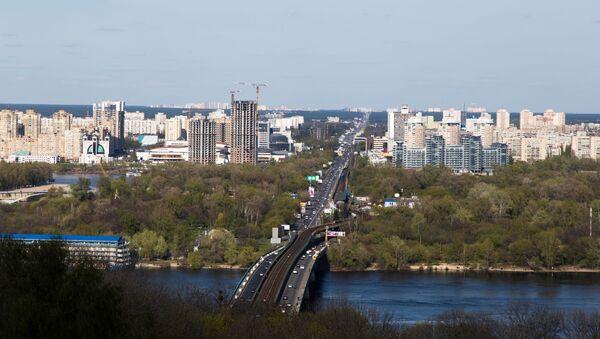 Bridge in Kiev, Ukraine - Sputnik International