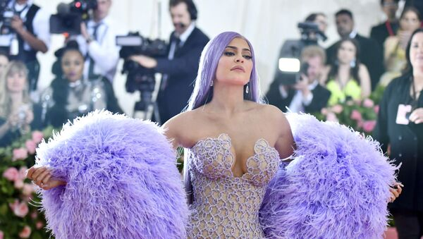 Kylie Jenner attends The Metropolitan Museum of Art's Costume Institute benefit gala celebrating the opening of the Camp: Notes on Fashion exhibition on Monday, May 6, 2019, in New York - Sputnik International