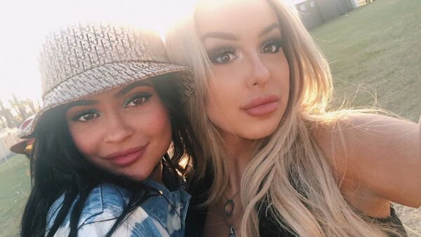 Kylie Jenner and Dizzy Paul - Sputnik International