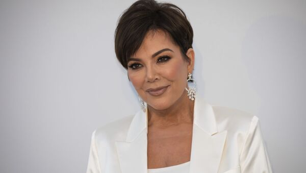 Kris Jenner poses for photographers upon arrival at the amfAR, Cinema Against AIDS, benefit at the Hotel du Cap-Eden-Roc, during the 72nd international Cannes film festival, in Cap d'Antibes, southern France, Thursday, May 23, 2019 - Sputnik International