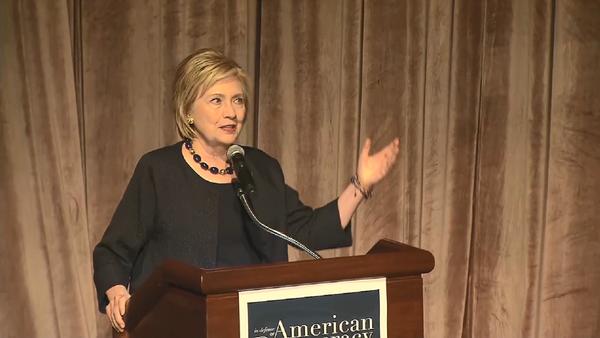 Former Secretary of State Hillary Clinton speaks at the American Federation of Teachers Shanker Institute Defense of Democracy Forum at The George Washington University, September 17, 2019 - Sputnik International