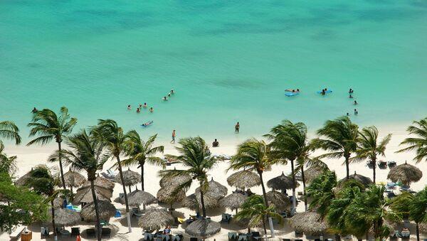 The Aruba island in the Dutch Carribean  - Sputnik International