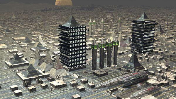 A futuristic city - Sputnik International