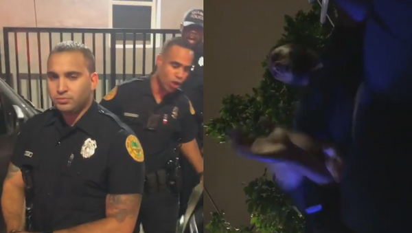 Miami Police Department officers caught on camera arresting and reportedly attacking local man for recording them  - Sputnik International
