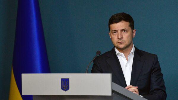 Ukrainian President Volodymyr Zelensky - Sputnik International