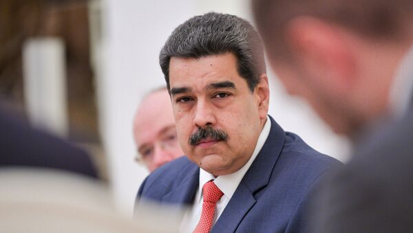 Venezuelan President Maduro attends a meeting with his Russian counterpart Putin in Moscow - Sputnik International