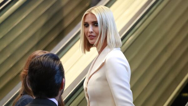 Ivanka Trump arrives with the Trump family to watch U.S. President Donald Trump address the 74th session of the United Nations General Assembly at U.N. headquarters in New York City, New York, U.S., September 24, 2019 - Sputnik International