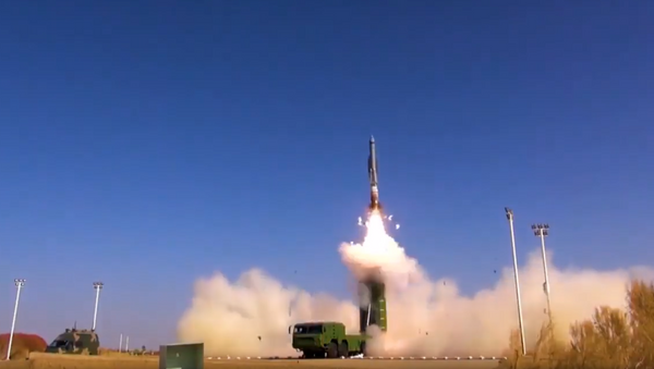 Beijing may have revealed its newest supersonic cruise missile in a Wednesday video posted to the PLA Rocket Force's Weibo account - Sputnik International