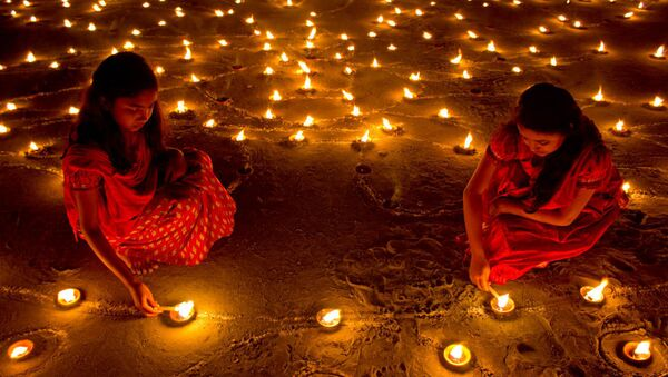 Diwali Festival - Sputnik International
