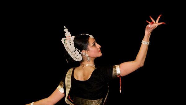 Sitara Thobani Odissi classical dance mudra India - Sputnik International