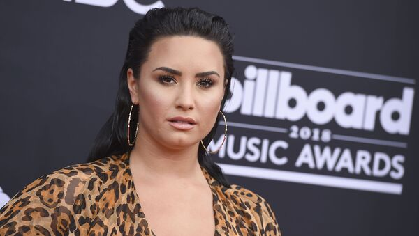 Demi Lovato at 2018 Billboard Music Awards - Arrivals - Sputnik International