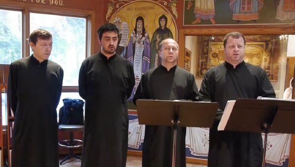 Russia's a cappella Konevets Quartet - Sputnik International