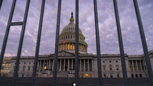 The Capitol in Washington is seen at dawn, Thursday, Oct. 3, 2019. - Sputnik International