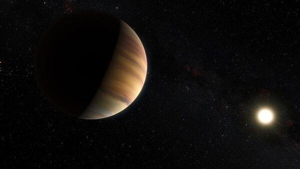 Artist impression of the exoplanet 51 Pegasi b - Sputnik International