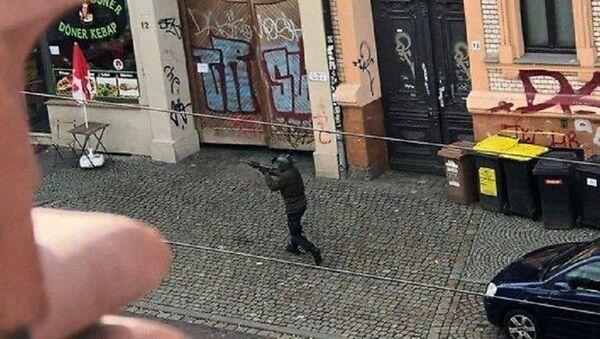 Shooting in the eastern German city of Halle on October 9, 2019 - Sputnik International