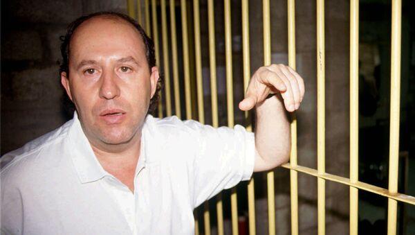 Roberto Escobar, brother of slain Medellin drug kingpin Pablo Escobar, stands inside his jail cell at a maximum security prison in Medellin, Colombia  - Sputnik International