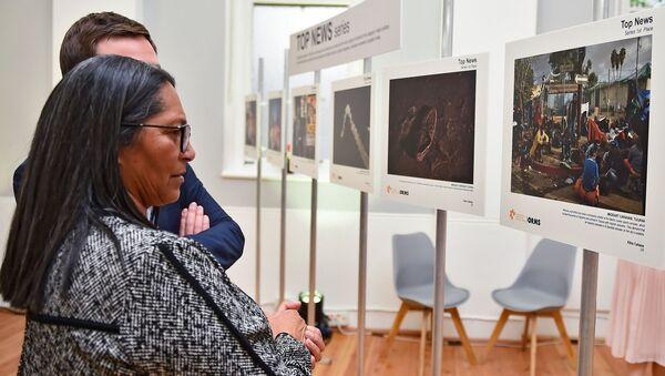 The exhibition of the Andrei Stenin Photo Contest winners in South Africa's Cape Town - Sputnik International