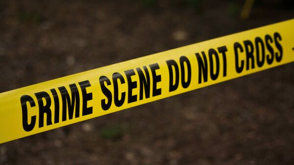 US police crime scene tape - Sputnik International